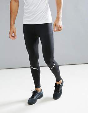 Bjorn Borg Performance Running Tights In Black