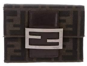 Fendi Zucca Trifold Wallet