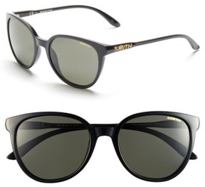 Smith Women's 'Cheetah' 53Mm Sunglasses - Black/ Polar Grey/ Green