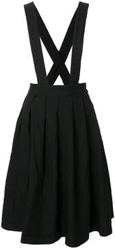 Comme des Garcons pinafore pleated skirt