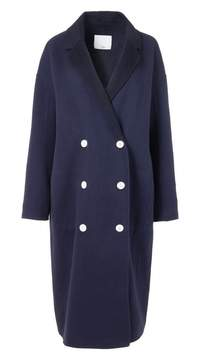 Tibi Double Faced Wool-Angora Oversized Coat