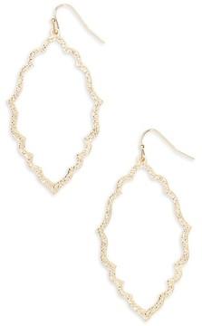BP Women's Etched Drop Earrings