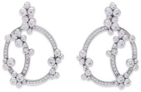 Audemars Piguet Millenary 18K White Gold 2.20 Ct Diamond Earrings