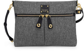 Henri Bendel Jetsetter Convertible Canvas Messenger