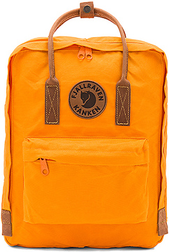 Fjallraven Kanken No. 2 in Orange.