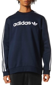 adidas Men's Linear Graphic Sweatshirt