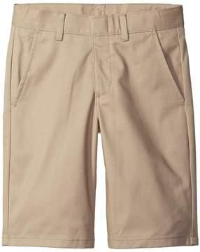Nautica Flat Front Twill Shorts Boy's Shorts