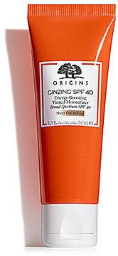 Origins GinZingTM SPF 40 Energy-Boosting Tinted Moisturizer
