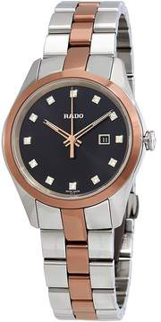 Rado Hyperchrome S Diamond Black Dial Ladies Watch
