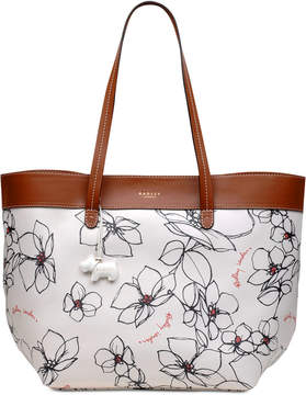 Radley London Floral Open-Top Small Tote