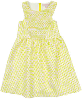 Appaman Girls' Azalea Citrus Ice Dress