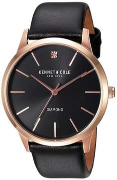 Kenneth Cole Slim Leather Mens Watch 10031278