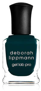 deborah lippmann Gel Lab Pro - Wild Thing - deep peacock creme