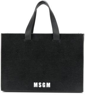MSGM logo tote