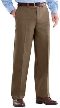 Croft & Barrow Men's Easy-Care Classic-Fit Flat-Front Pants