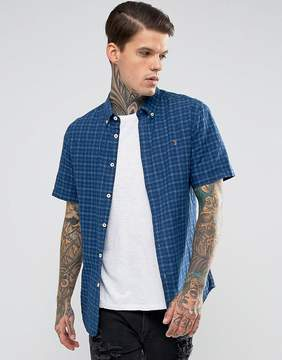 Farah Check Short Sleeve Shirt