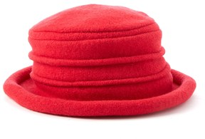 Scala Packable Wool Cloche Hat
