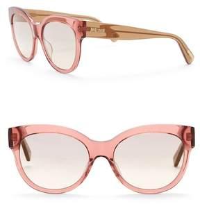 Just Cavalli Round 56mm Plastic Sunglasses
