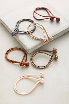 Anthropologie Knotted Hair Tie Set