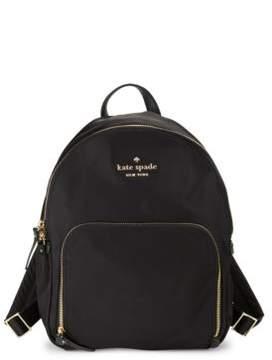 Kate Spade Hartley Nylon Backpack - BLACK - STYLE