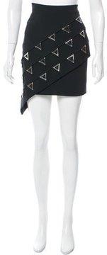 David Koma Resort 2017 Embellished Skirt w/ Tags