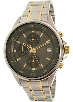 Seiko Men's SKS481 Silver Stainless-Steel Quartz Watch