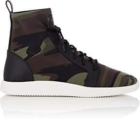 Giuseppe Zanotti Men's Camouflage Neoprene Sneakers