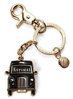 Aspinal of London London Black Taxi Key Ring