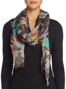 Aqua Camo Butterfly Scarf - 100% Exclusive