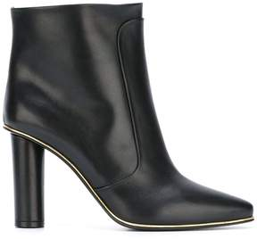 Balmain quilted knee-high boots