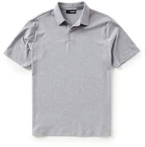 Murano Slim-Fit Perfect Solid Liquid Luxury Short-Sleeve Polo Shirt