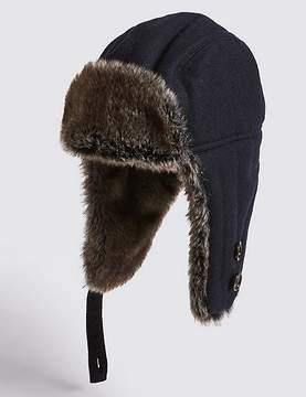 Marks and Spencer Melton Trapper Hat