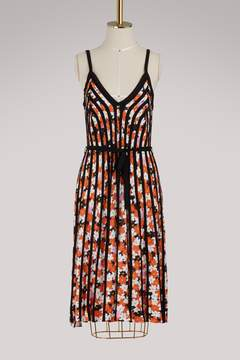 Kenzo Sleeveless printed dress