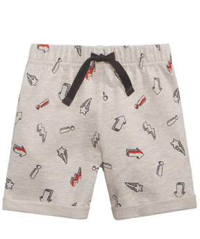 First Impressions Sketch-Print Shorts, Baby Boys (0-24 months), Created for Macy's