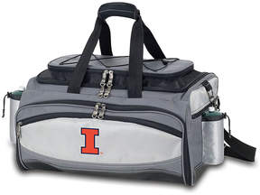 Picnic Time Illinois Fighting Illini Vulcan Portable Barbecue Tote Set
