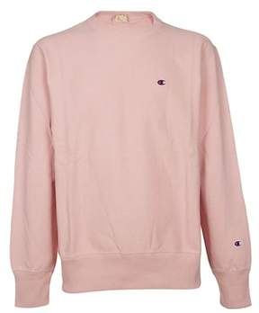 Champion Men's Pink Cotton Sweatshirt.