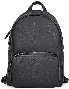 Montblanc MST Soft Grain Backpack Black 40 x 31 x 18 cm