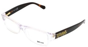 Just Cavalli Jc0455/v 026 Clear Rectangle Optical Frames.