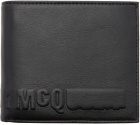 McQ Black Logo Wallet