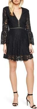 Bardot Midnight Lace Minidress