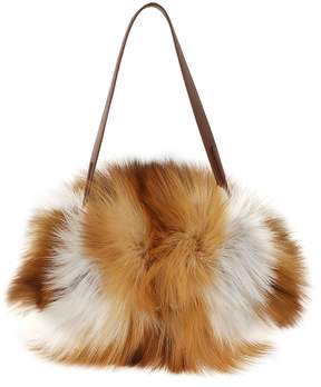Max Mara Fur Shoulder Bag