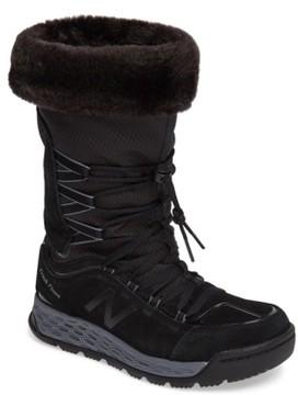 New Balance Women's Q416 1000 Faux Fur Waterproof Platform Boot