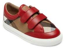 Burberry Baby's, Toddler's & Kid's Mini Heacham Leather & Cotton Sneakers