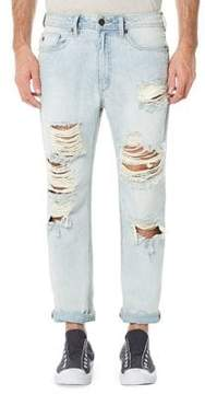 Buffalo David Bitton Gunner Distressed Cotton Jeans