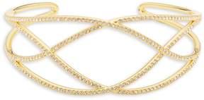 Adriana Orsini Women's Crystal Crisscross Bracelet