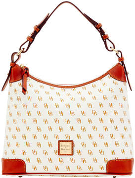 Dooney & Bourke Gretta Hobo - WHITE TAN - STYLE