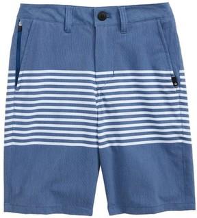 Quiksilver Boy's Echo Stripe Amphibian Board Shorts