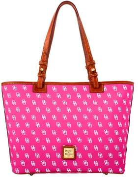 Dooney & Bourke Gretta Small Leisure Shopper Tote - FUCHSIA - STYLE