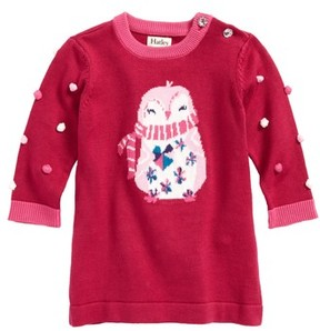Hatley Infant Girl's Penguin Sweater Dress