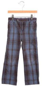 Bonpoint Boys' Plaid Straight-Leg Pants